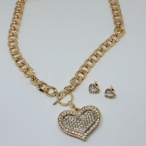Fantasy necklace and earing set